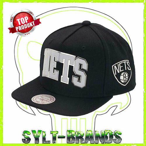 Brooklyn Nets Cappuccio Mitchell and Ness Baseball Cap Mitchell /& Ness Snapback Hats