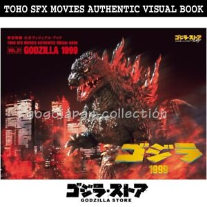 GODZILLA-STORE-TOHO-SFX-MOVIES-AUTHENTIC-VISUAL-BOOK-VOL-21-GODZILLA-1999