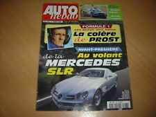 Auto hebdo N°1228 SLR Vision.Euro Formula Audi.Safari