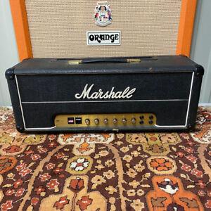 Vintage 1979 Marshall JMP Super Bass 100w MKII Model 1992 Valve Amplifier Head