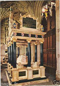 Koenigreich-Uni-L-039-Abbaye-De-Westminster-Grab-von-der-Koenigin-Elisabeth-I