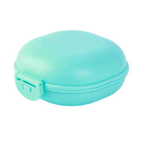 Soap Dish Box Case Holder Plastic Durable Portable Travel Flexible Bathroom 6L