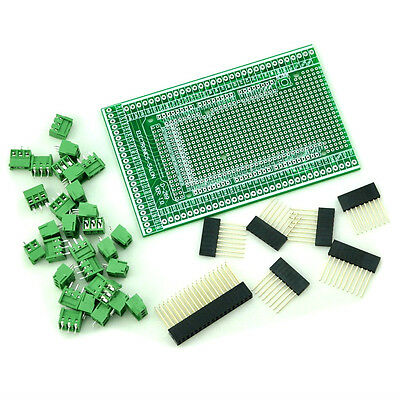 Prototype Screw/Terminal Block Shield Board Kit For Arduino MEGA-2560 R3.