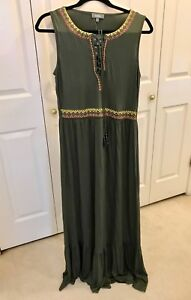 Beautiful-Neiman-Marcus-Maxi-Dress-L-NWT