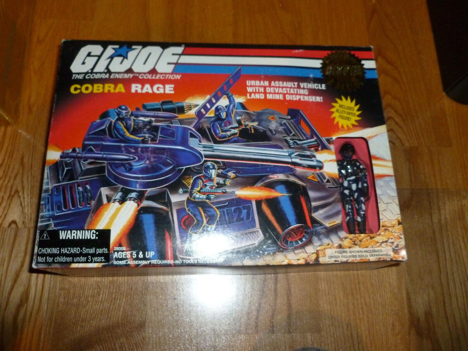 GI JOE GIJOE 1997 cobra rage nuevo en caja