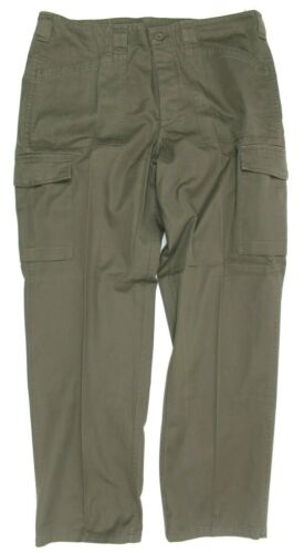 AUSTRIAN ARMY M75 COMBAT TROUSERS in OLIVE DRAB