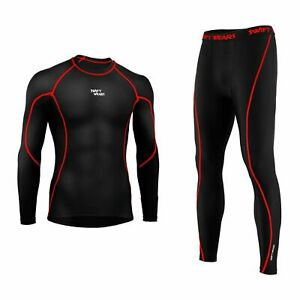 Hot Men Sports Exercise Compression Tights Under Thermal Armour Skin Base Layers