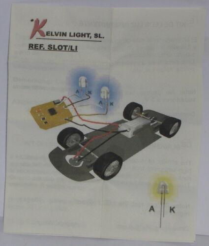 Kelvin Light Ref-Slot Li N Gauge Building Kit Flasher Special Cars Police and