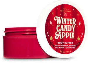5-OFF-NEW-Winter-Candy-Apple-6-5-oz-Body-Butter-Bath-amp-Body-Works-SHIPS-FREE