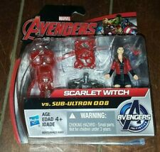 Marvel Avengers Figura Scarlet Witch Vs Sub Ultron 008 Build /& Collect B2473