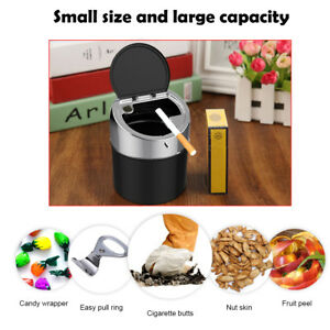 Stainless-Steel-Ashtray-Detachable-Ash-Holder-Lid-Large-Capacity-Place-Antirust