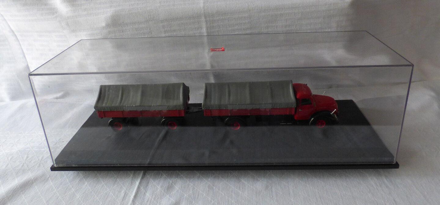Schuco 03162 03162 03162 Magirius S6500 Rundhauber mit Anhänger 1  43 in OVP 7427dc