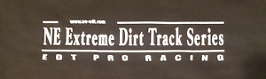 NE Extreme Dirt Track Series Official Shirt Shirts Clothing NEEDT Pro Racing  XL