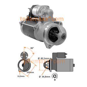 Deutz Anlasser Bosch Vgl Nr 0001365004  mit 3,7 KW Deutz DX Schlepper