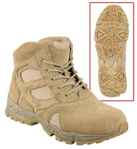 Boot 6  Desert Tan Forced Entry Deployment 5368 redhco