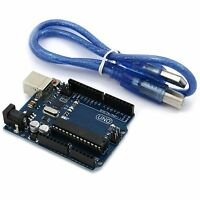 Arduino Uno R3 kompatibles Board MEGA328P ATMEGA16U2 mit USB Kabel