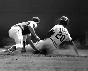 St-Louis-Cardinals-LOU-BROCK-Glossy-8x10-Photo-Major-League-Baseball-Print