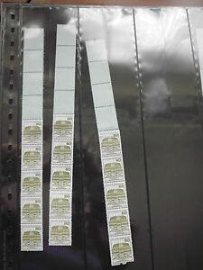 brd Briefmarken Dauerserie Burgen + Schlösser 80 Pfg Endstreifen postfrisch