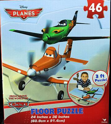 Disney Movie Planes 46 Piece Educational Giant 3ft Floor Jigsaw Puzzle Kids New 47754966541 Ebay