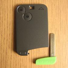 Smart Card 2 Button Remote FOB Key Case Renault Laguna mk2 Espace mk4 Vel Satis