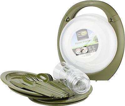 Gio Style - Picnic Set Trippy Verde Squisito Artigianato;