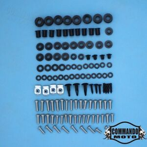 For-Kawasaki-Ninja-EX250-250R-2008-2012-Fairing-Bolt-Kit-Screws-Bolts-Fasteners