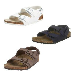 Image is loading Birkenstock-Roma -Boys-Girls-Childrens-Comfortable-Sandals-with- 4bdd840418a