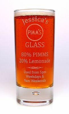 GD Personnalisé Gin /& Tonic whisky soda verre cadeau 18th//21st//30th//40th Anniversaire