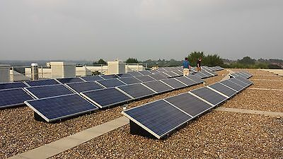 10kw 10000w Solar Pv Kit System For Flat Roof Or Ground