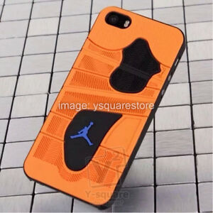 low cost a68e1 faadd Details about Apple iPhone 6, 6s Plus 5, 5s / Samsung S5 Air Jordan Michael  Sneaker Sole Case