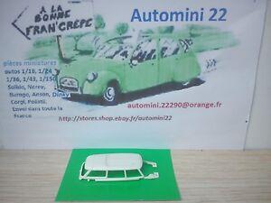 Solido 1//43 Citroen DS Break 1961 Blanche