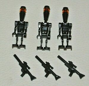 FROM SET 7930 8128 8015 LEGO STAR WARS MINIFIG SW0222 ASSASSIN DROID ELITE