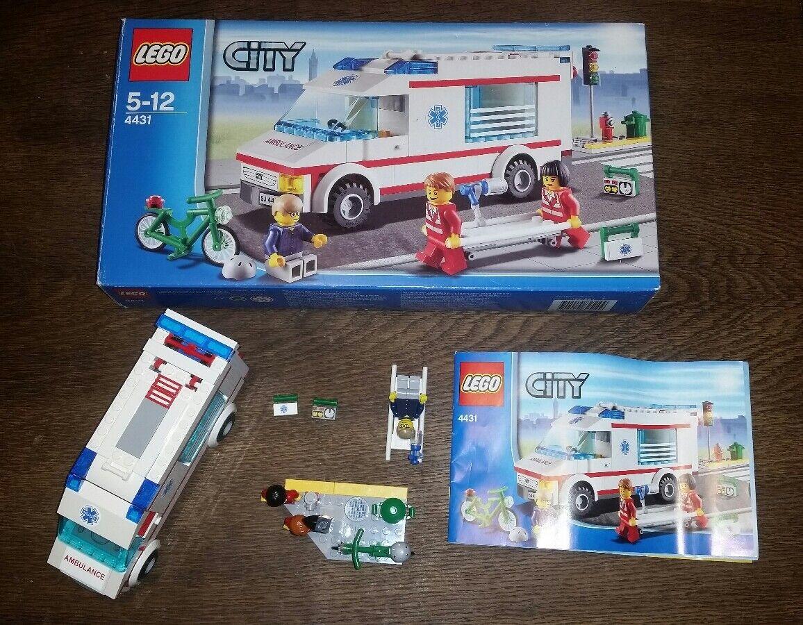LEGO ® ambulanza Set 4431 con statuine e vendita autoTONE    grandi risparmi