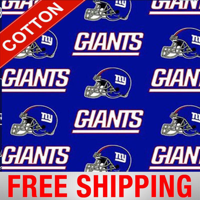 New York Giants NFL Cotton Fabric - 60