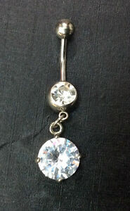 PIERCING-OMBELICO-GIOIELLO-JEWELRY-NAVEL-BELLY-BARS-316L-SURGICAL-STEEL-1-6-MM-U