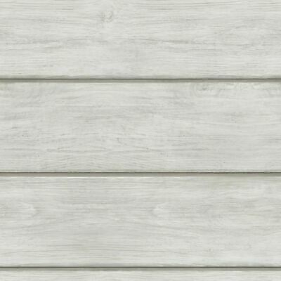 Chesapeake Grey Shiplap Wood On Easy Walls Wallpaper 3115 12442 Sch12442 Ebay