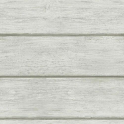 Chesapeake Grey Ship Lap Wood on Easy Walls Wallpaper 3115-12442 SCH12442