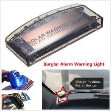 1pcs 6LED Car Dash Blue Burglar Alarm Warning Strobe Flash Light Anti-theft Lamp