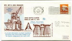 1979 Space Shuttle Cluster Firing #5 Nstl Bay Sant Louis Mississippi Space Usa PréVenir Le Grisonnement Des Cheveux Et Aider à Conserver Le Teint