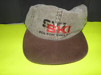 Bolton Valley, Vermont-ski 2 Tone Leather Strap Hat