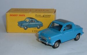 Dinky Toys n ° 24l 2 Cv Vespa 400, - Superbe menthe.