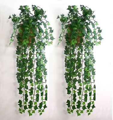 7.5feet Artificial Ivy Leaf Garland Plants Vine Fake Foliage Flowers Home DIY