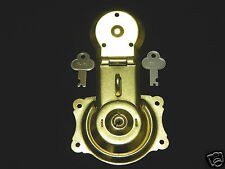 Lock for Camel Back Steamer Trunk Brass Plated