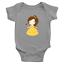 Infant-Baby-Rib-Bodysuit-Jumpsuit-Romper-Clothes-Beauty-amp-Beast-Princess-Belle thumbnail 4