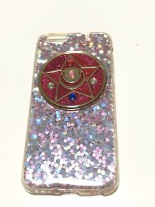 Sailor-Moon-Iphone-6-6s-Star-Sparkly-Case-Pink-Cellular-Mobile-Phone-Female-Cute