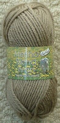 50g Ball Merino 100% Wool Aran Knitting Wool Yarn King Cole
