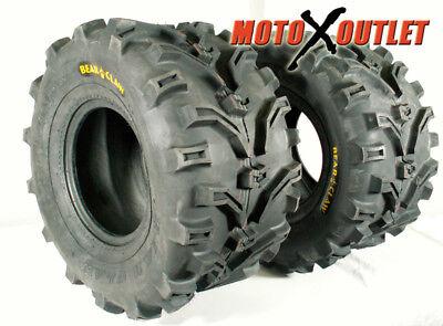 Pair of Kenda Bear Claw ATV Tires 6ply 2 24x11-10