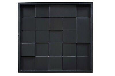 Tetragon 3D Decorative Wall Panel Plastic Mould Mold Plaster Gypsum DIY Tile