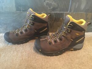 Mens Sz 11/44.5 Keen Brown Leather High