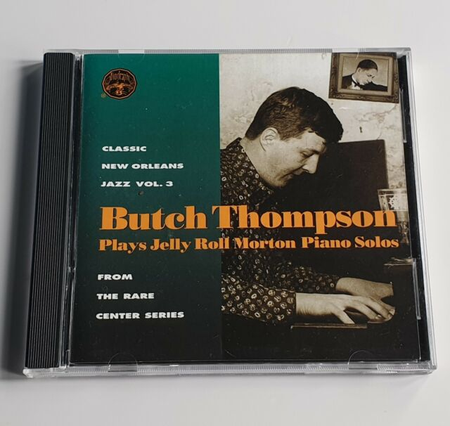 Butch Thompson – Plays Jelly Roll Morton Piano Solos (CD) – Excellent Condition*